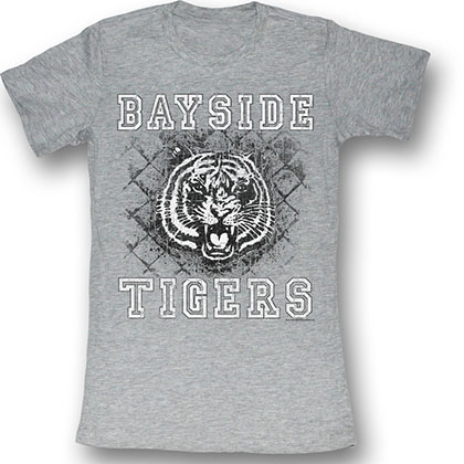Saved By The Bell Schoolyard Tigers T-Shirt