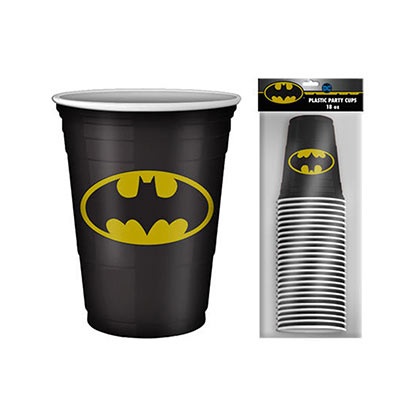 Batman 20 Pack Disposable Beer Pong Cups