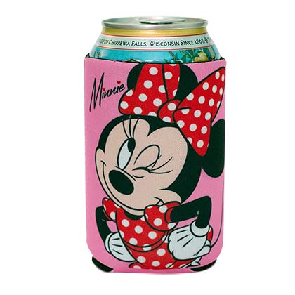 Disney Minnie Mouse Beer Can Koozie