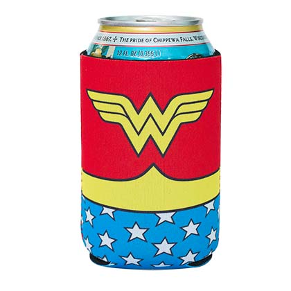 Wonder Woman Beer Can Cooler