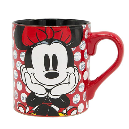 Minnie Mouse Polka Dot 14 Ounce Mug