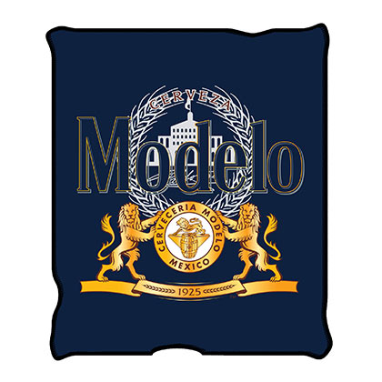 Modelo 45 X 60 Blue Label Fleece Blanket