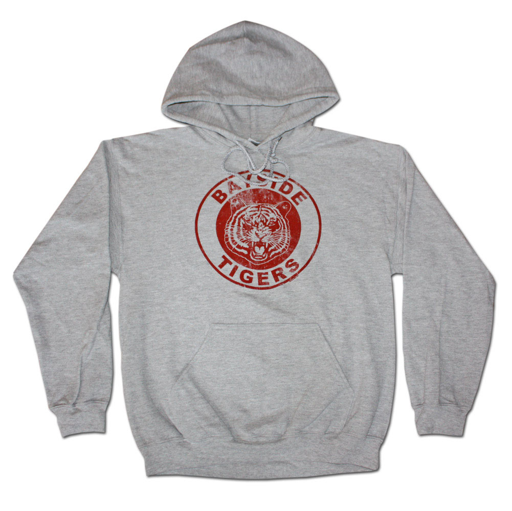 Saved By The Bell Bayside Tigers Grey Pullover Hoodie