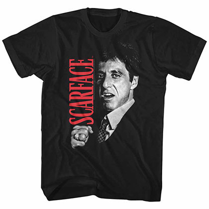 Scarface Sf Black TShirt