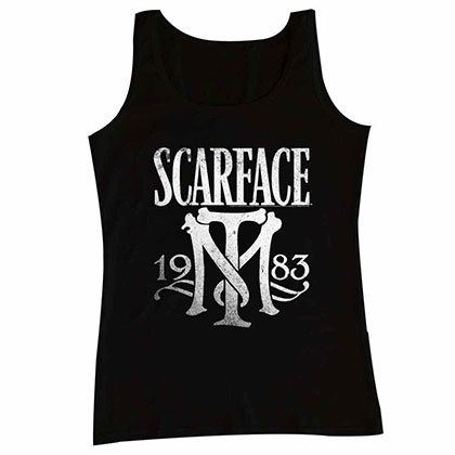 Scarface Symbol Black Tee Shirt