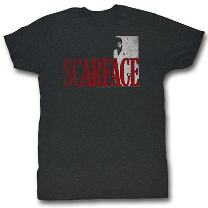 Scarface Sfredwhite T-Shirt