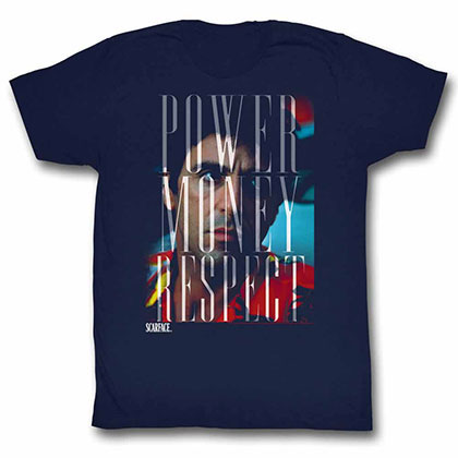 Scarface Pmr Blue Tee Shirt