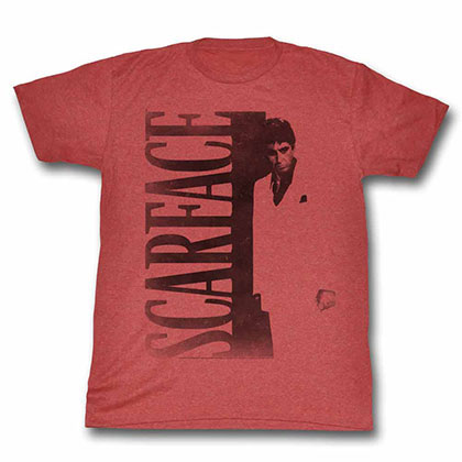 Scarface Scarface Red Tee Shirt