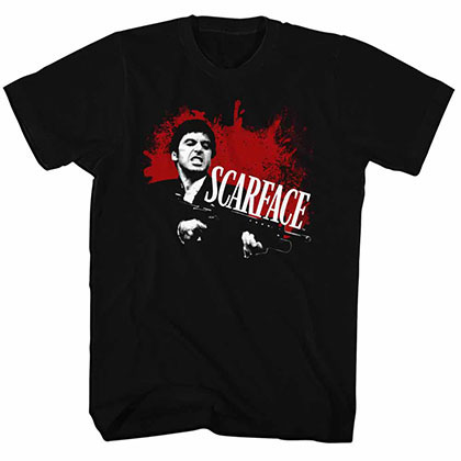 Scarface Scarface Black Tee Shirt