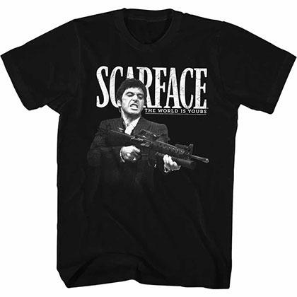 Scarface Scarface Black TShirt