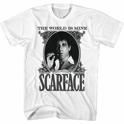 Scarface Dollarface White Tee Shirt