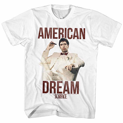 Scarface Americandream White TShirt