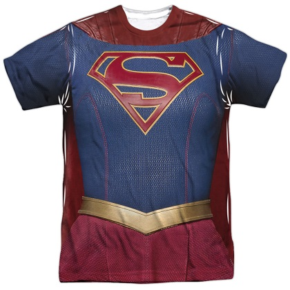 Supergirl Costume Tee
