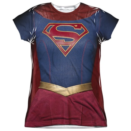 Supergirl Womens Costume Tee