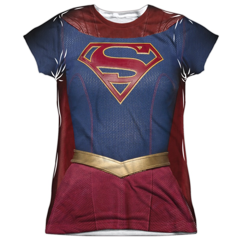 9b0123c8 item was added to your cart. Item. Price. Supergirl Womens Front and Back  Print Costume Tee