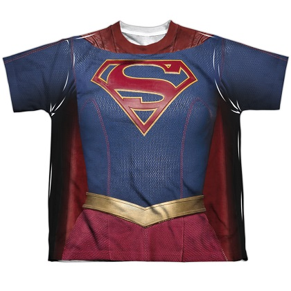 Supergirl Youth Costume Tee