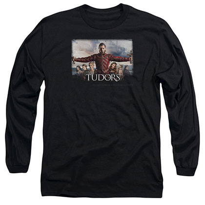 Tudors The Final Seduction Black Long Sleeve T-Shirt