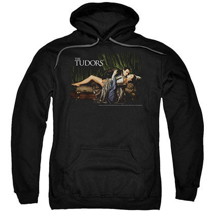 Tudors The King And His Queen Black Pullover Hoodie