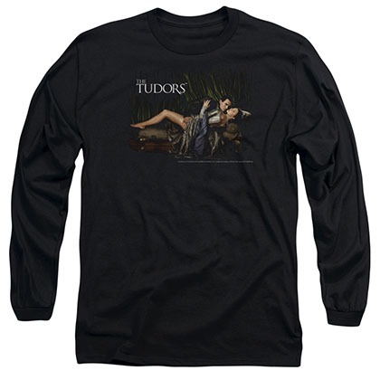 Tudors The King And His Queen Black Long Sleeve T-Shirt