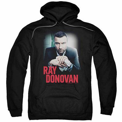 Ray Donovan Clean Hands Black Pullover Hoodie