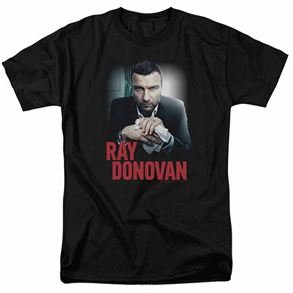 Ray Donovan Clean Hands Black T-Shirt