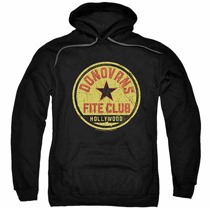 Ray Donovan Fite Club Black Pullover Hoodie