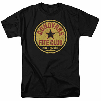 Ray Donovan Fite Club Black T-Shirt