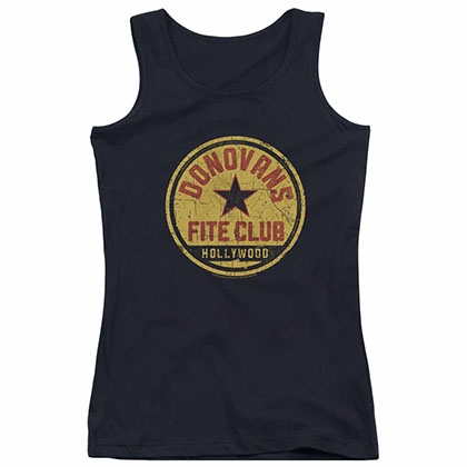 Ray Donovan Fite Club Black Juniors Tank Top