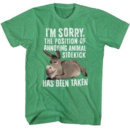 Shrek Annoying Animal Sidekick Tshirt