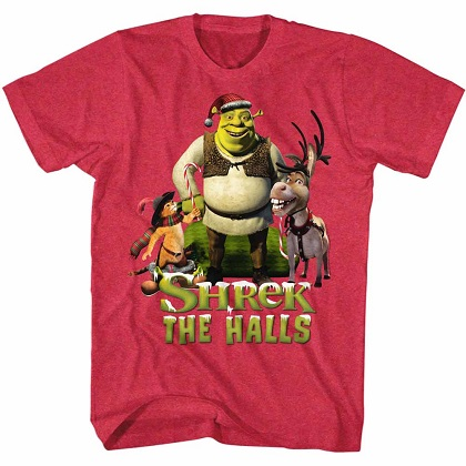 Shrek The Halls Tshirt