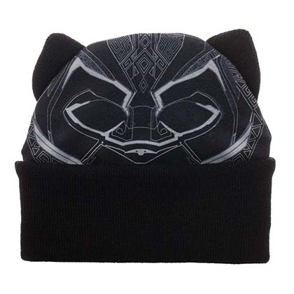 Black Panther Costume Black Hat