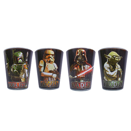 Star Wars Character Shot Glass Set