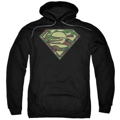 Superman Camo Logo Hoodie