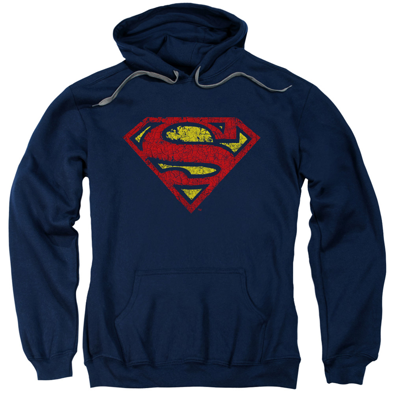 Superman Crackle Logo Hoodie