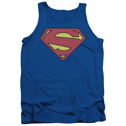 Superman New 52 Logo Tank Top
