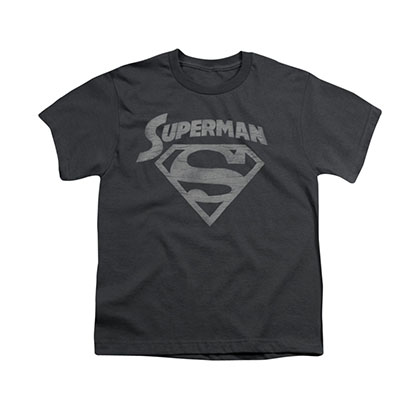 Superman Super Arch Gray Youth Unisex T-Shirt