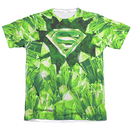 Superman Kryptonite Logo Sublimation T-Shirt