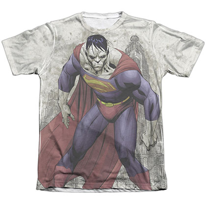 Superman Bizarro Sublimation T-Shirt