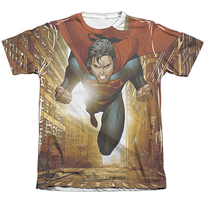Superman Up Up City Sublimation T-Shirt