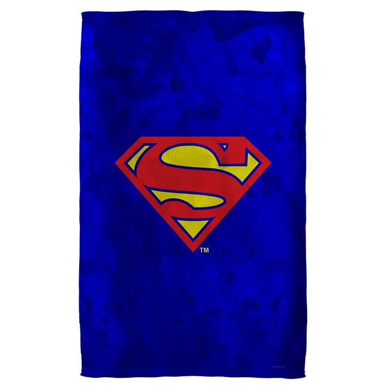 Beach Blanket Logo: Superman Logo Beach Towel