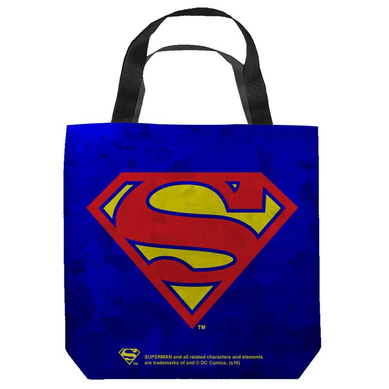Superman Logo Tote Bag