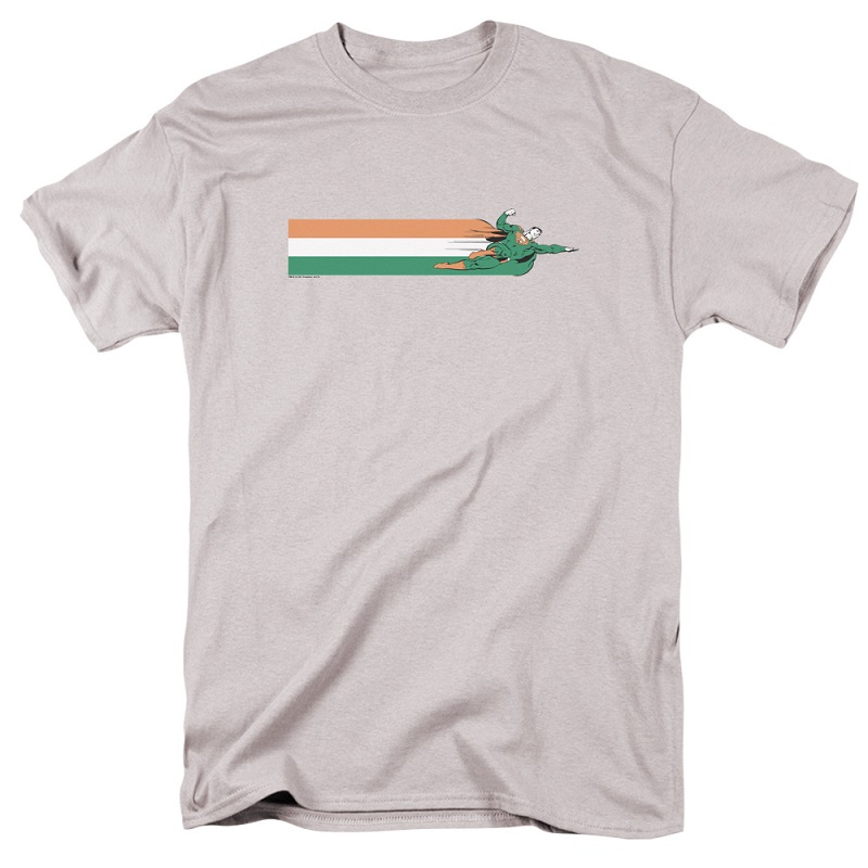 Superman Flying Irish Flag Tshirt
