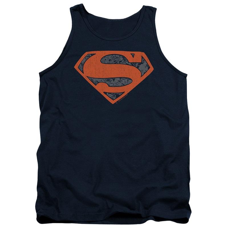 Superman Vintage Logo Tank Top