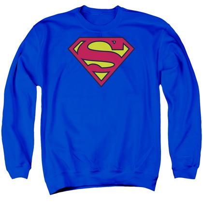 Superman Classic Logo Crewneck Sweatshirt