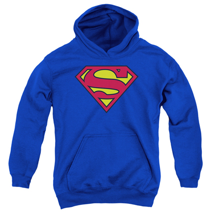 Superman Classic Logo Youth Hoodie