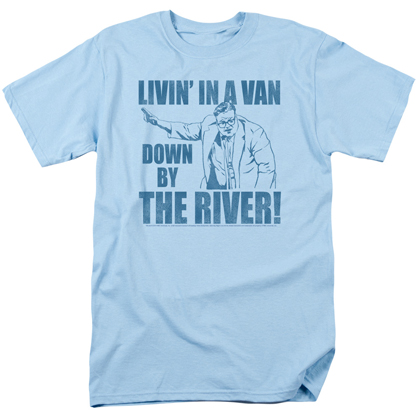 Saturday Night Matt Foley Live Livin In A Van Tshirt