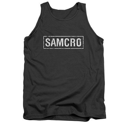 Sons Of Anarchy SAMCRO Black Tank Top