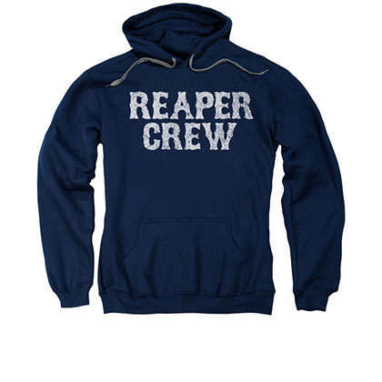 Sons Of Anarchy Reaper Crew Blue Pullover Hoodie