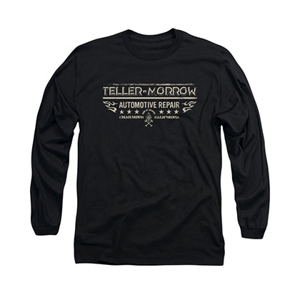 Sons Of Anarchy Teller Morrow Black Long Sleeve T-Shirt