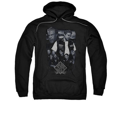 Sons Of Anarchy Ties That Bind Black Pullover Hoodie